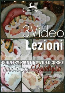 video lezioni di country painting